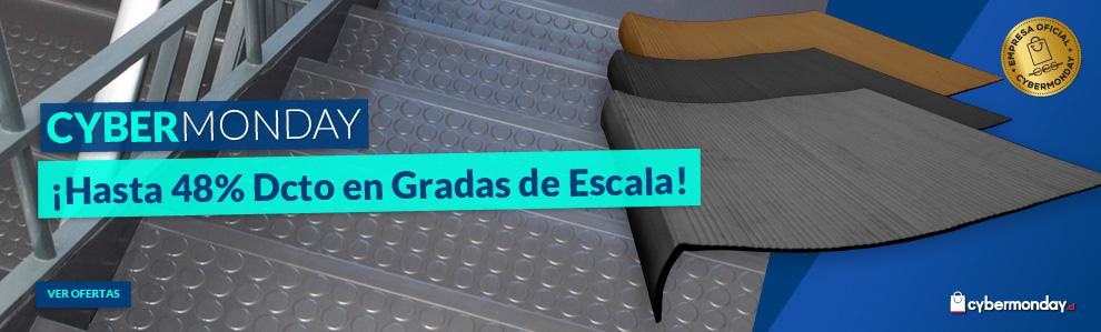 Gradas de PVC para escaleras