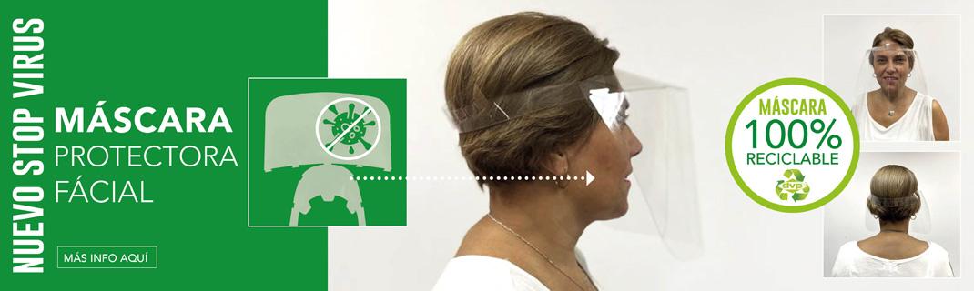 Máscara facial Stop Virus