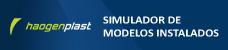 Simulador de Aquaplan Revestimiento para Piscinas