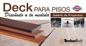 Deck para pisos y terrazas