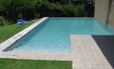 Revestimiento para piscinas Aquaplan en casa particular