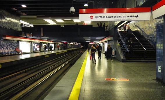 Nueva Palmeta Podo Touch de DVP: Máxima seguridad en estaciones de Metro