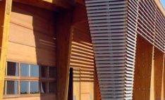 Quiebravista Dvlux como terminación decorativa en centro cultural