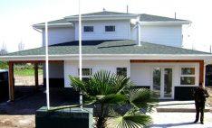 Revestimiento Siding DVP en cuarteles de Carabineros de Chile