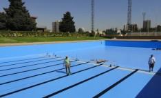 Membrana Aquaplan para piscina de Escuela Militar