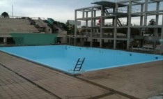 Piscina Salto Estadio Nacional  con membrana Aquaplan