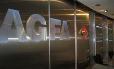 Sistema modular Danpalon en oficinas Agfa