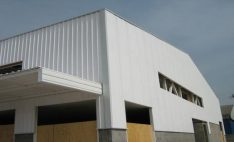 Cubiertas de PVC industrial Palruf en empresa Canplast