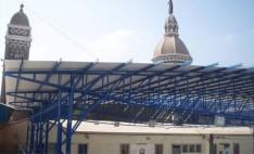 Cubierta de PVC industrial en Colegio Don Bosco