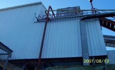 Aplicación de PVC industrial en Pesquera San José