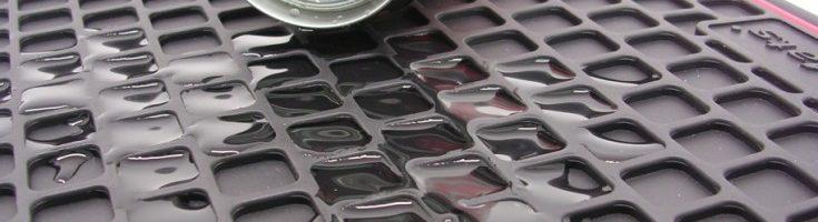 Encuentra todo sobre Cubrepisos de goma (PVC) 4 piezas