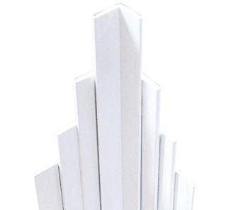 Perfil l 40x40mm ventana PVC blanco