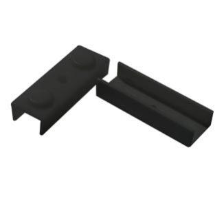 Patín  rta u 15 mm negro bolsa 500 un