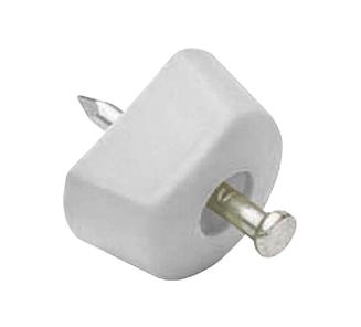 cd4aafb1a73 Soporte repisa clavo blanco bolsa 50 un en Accesorios para muebles ...