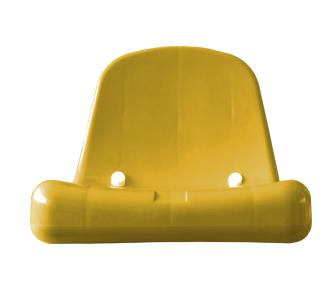 Butaca para estadio amarillo