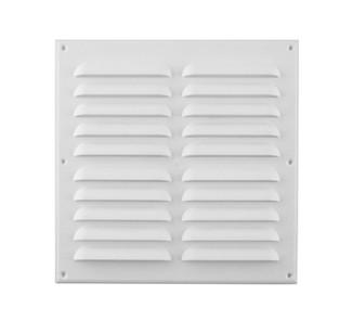 Celosía ventilación plana 23x23cm  blanca