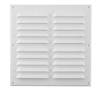Celosía ventilación plana 30x30cm blanca