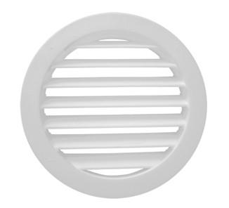 Celosía circular de ventilación blanca