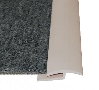 Cubrejunta alfombra  j beige rollo 50m