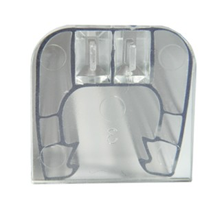 Tapa conector u transparente