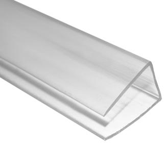 Cubrez calo 16mm 3m transparente en perfiles y accesorios for Perfil u aluminio leroy merlin