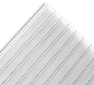 Policarbonato alveolar 1050x2900x10mm transparente