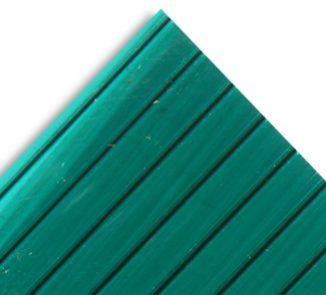 Policarbonato alveolar 2100x11600x10mm verde