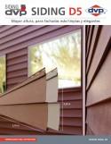 Catálogo de Siding D5