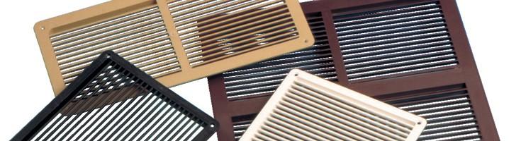 Encuentra todo sobre Celosías de ventilación