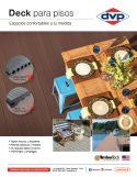 Catálogo de Sistema para deck Timbertech