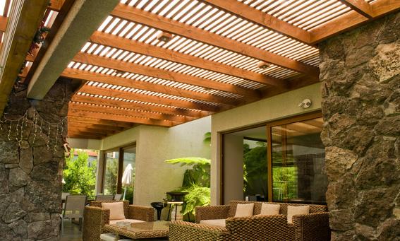 Policarbonato alveolar transparente o bronce capa9 el for Columpio de terraza homecenter