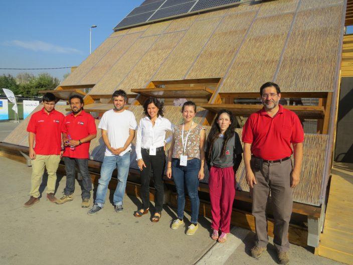Aplicación de Polibambú DVP en viviendas sustentables