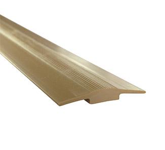 Cubrejunta alfombra plano beige 3m