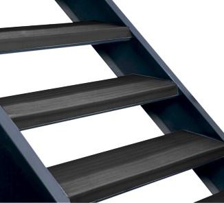 Grada completa clasica 3m negro