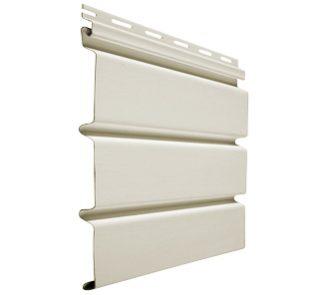Panel alero sólido beige