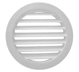 Celosía circular 22 d blanco