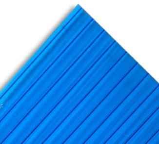 Policarbonato alveolar 2100x5800x6mm azul