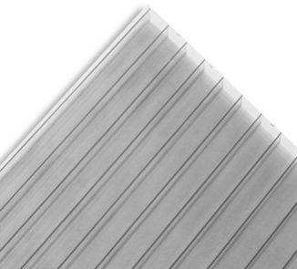 Policarbonato polyshade 2100x5800x10mm gris metalico