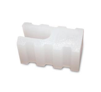 Tope plancha policarbonato ondulado 100un