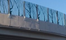 280 m2 de barreras acústicas en General Velásquez con Costanera Norte, Santiago