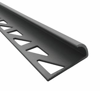 Esquinero para cerámica aluminio curvo 10mm