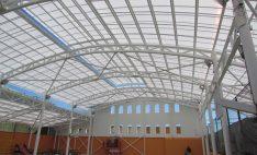 Sistema Danpalon en Gimnasio del Instituto o´Higgins de Rancagua