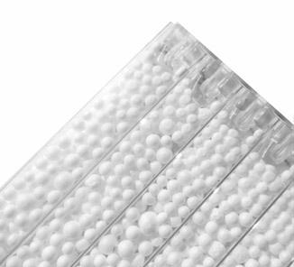 Polideco 1x2m x8mm Blanco