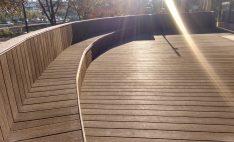 Deck para Terraza de Hotel NH Collection en Santiago