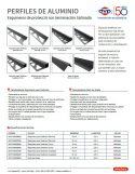 Catálogo de Esquineros de protección