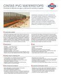 Catálogo de Cintas de PVC Waterstoper