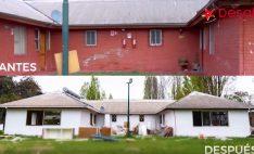 DVP Y DESAFIO LEVANTEMOS CHILE: Nuestra empresa colaboró en la construcción de nuevo hogar del Sename