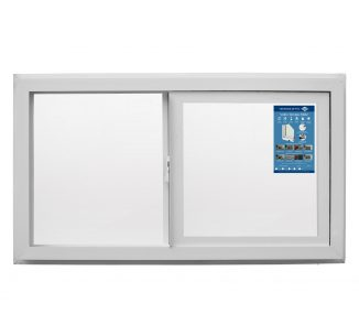 Ventana corredera Advance vidrio simple 140x120cm