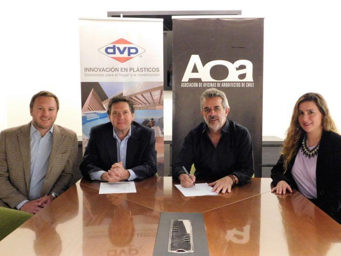 DVP reafirma su compromiso con la arquitectura