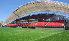 Butacas para estadio en remodelación de Estadio Nicolás Chahuán de La Calera